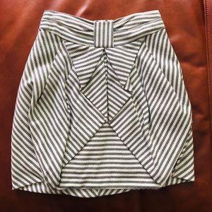 Mini skirt from Anthropologie